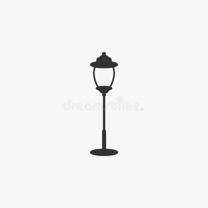 Lamp, lantern, light, lamplight, pineapple top stock illustration