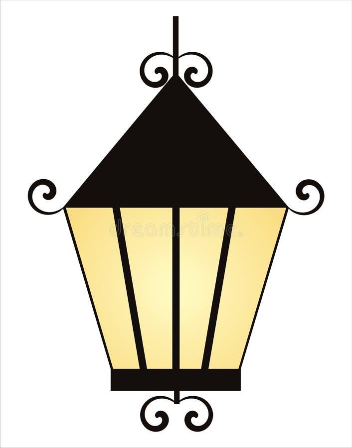 Free Lantern Isolated On White Royalty Free Stock Image - 18253506