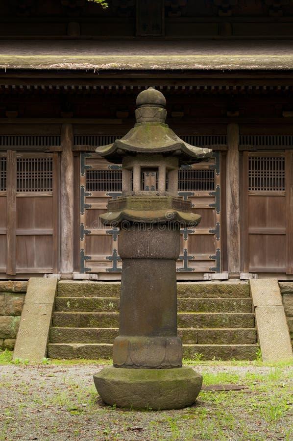 Lantern in japaneese garden Sankei-en. Yokohama, Japan stock images