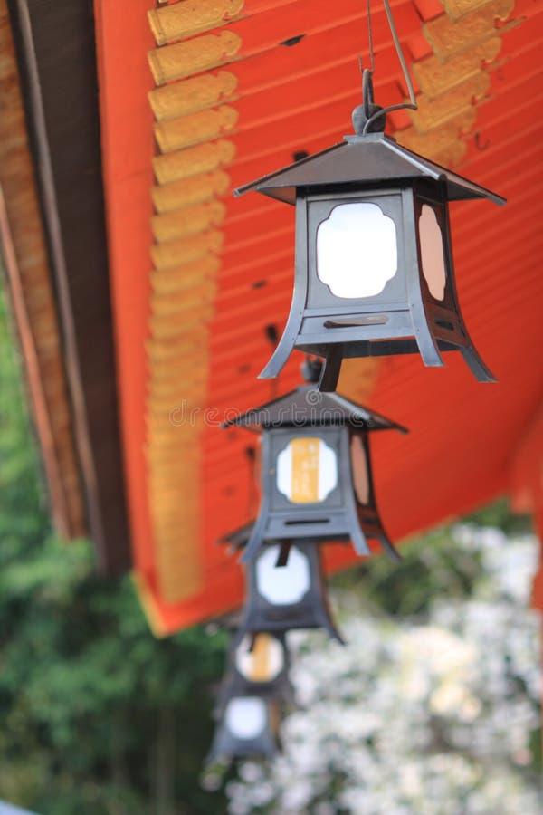 Lantern of light will of Gion in Yasaka Shrine in Kyoto. The lantern of light will of Gion in Yasaka Shrine in Kyoto royalty free stock photo