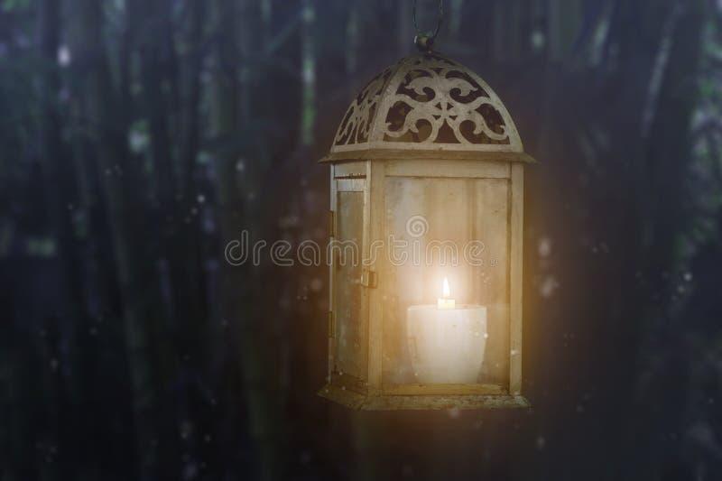Lantern at night royalty free stock photos