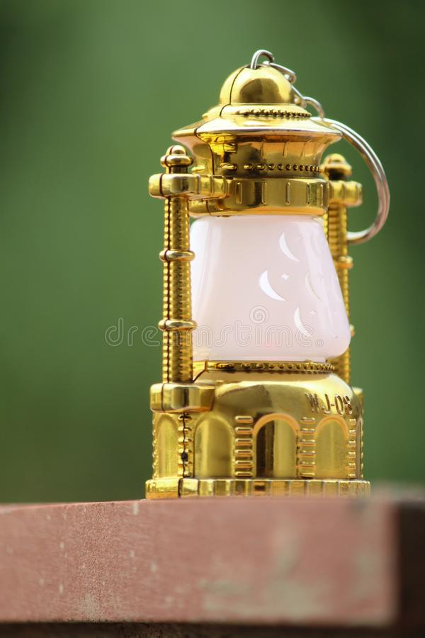 Small Lantern Indian market maker royalty free stock images