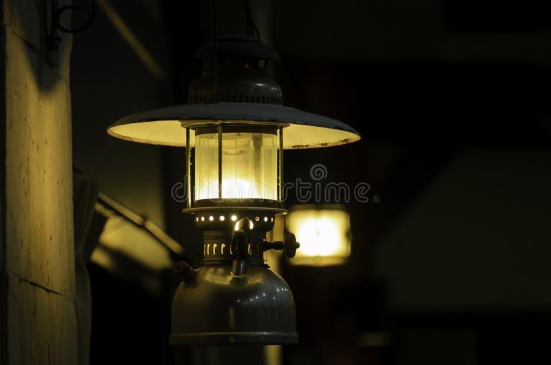Lantern. Thailand is called hurricane lanterns stock images