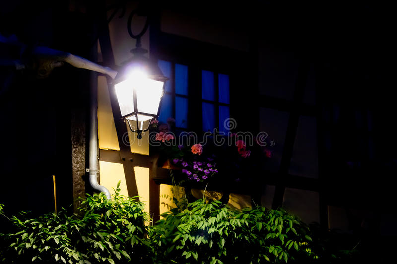 Lantern window royalty free stock photography