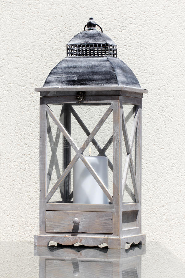Free Lantern With A Candle Royalty Free Stock Photography - 70727297