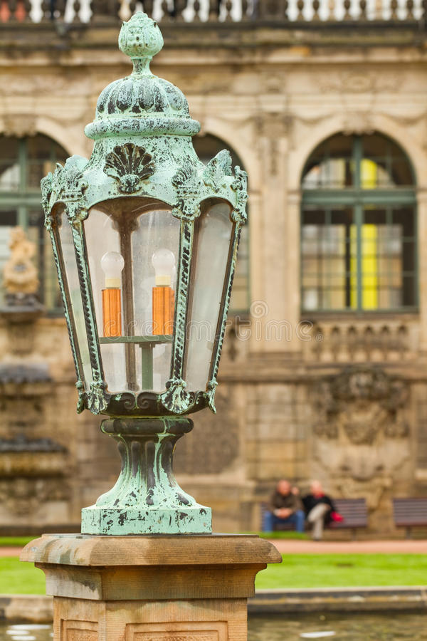Download Lantern In Zwinger Palace .  Dresden, Germany Stock Photo - Image: 23236892