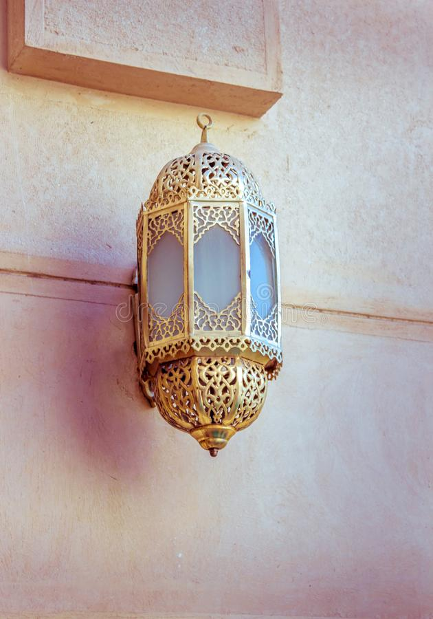 Lanterna árabe fotografia de stock royalty free