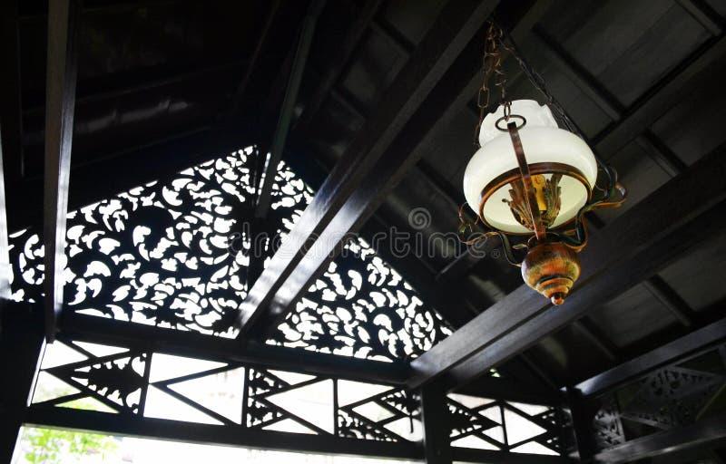 Lanterna étnica do Malay imagens de stock royalty free