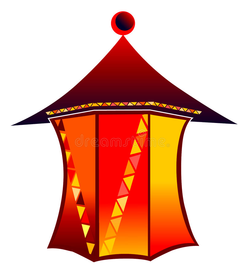 Lanterna ilustração royalty free