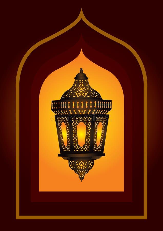 Lanterna araba complicata royalty illustrazione gratis