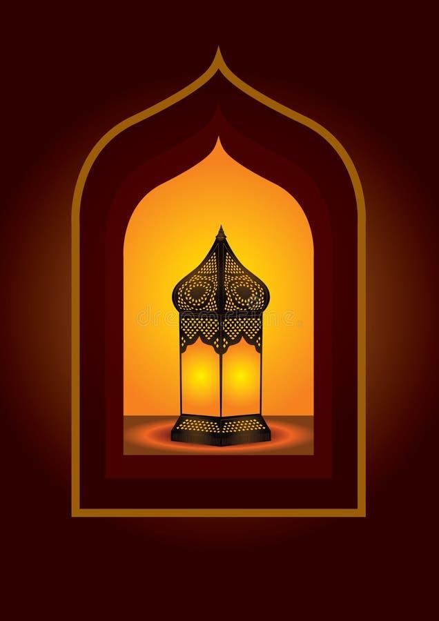 Lanterna araba complicata variopinta royalty illustrazione gratis