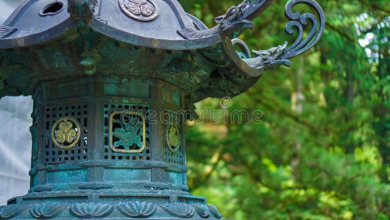 Lanterna bronzea II fotografie stock libere da diritti