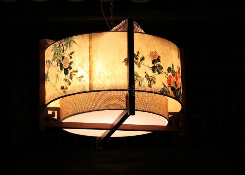 Lanterna chinesa do palácio imagens de stock royalty free