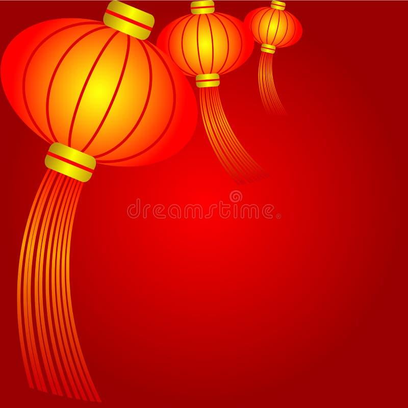 Lanterna cinese royalty illustrazione gratis