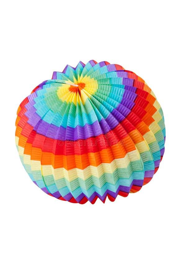 Lanterna colorida fotografia de stock royalty free