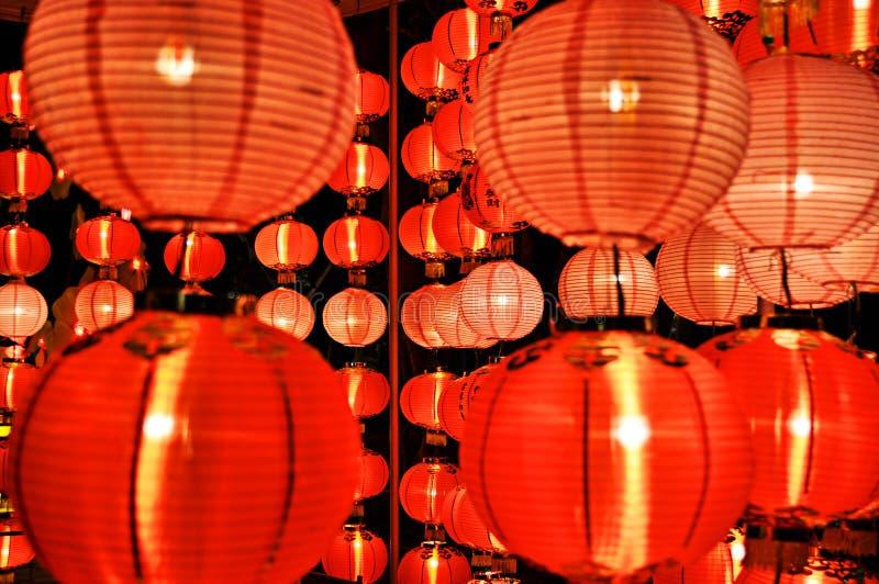 Lanterna colorida imagens de stock