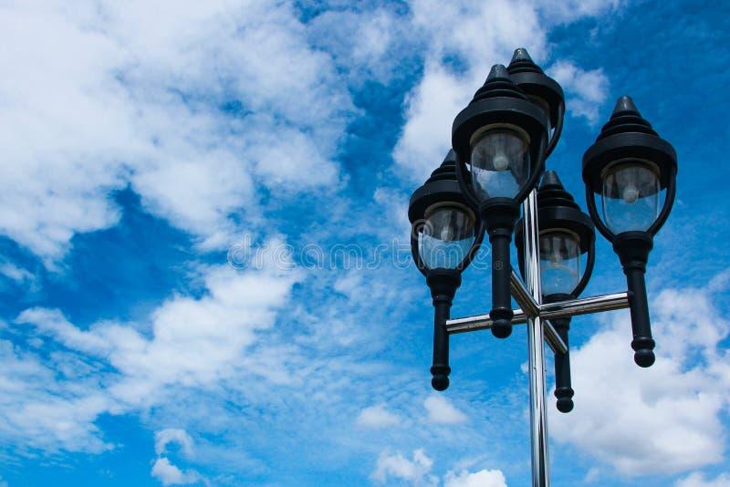 Lanterna da rua fotografia de stock royalty free