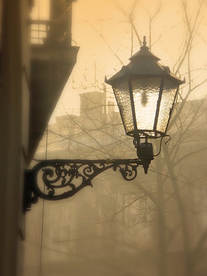 Lanterna da rua fotografia de stock