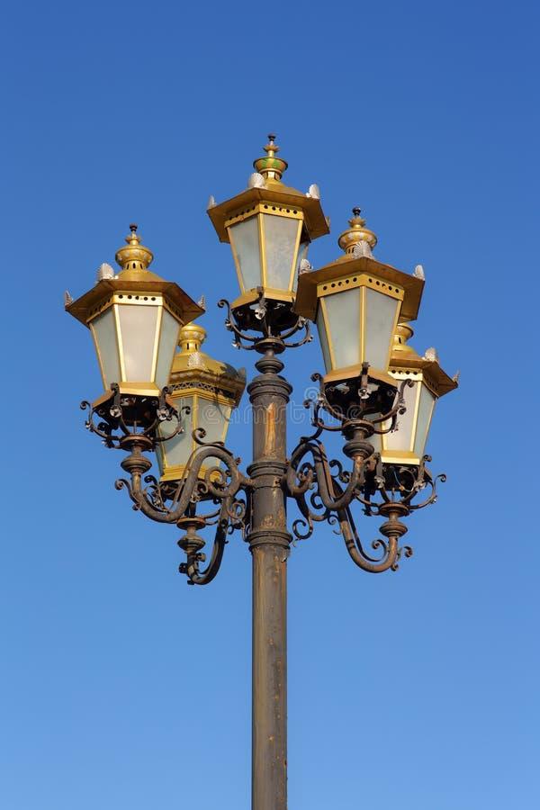 Lanterna decorativa velha imagens de stock