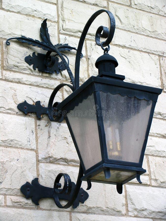 Lanterna del ferro saldato fotografia stock libera da diritti