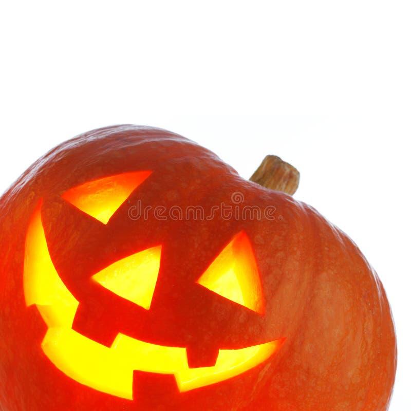 Lanterna del o della presa di Halloween fotografie stock