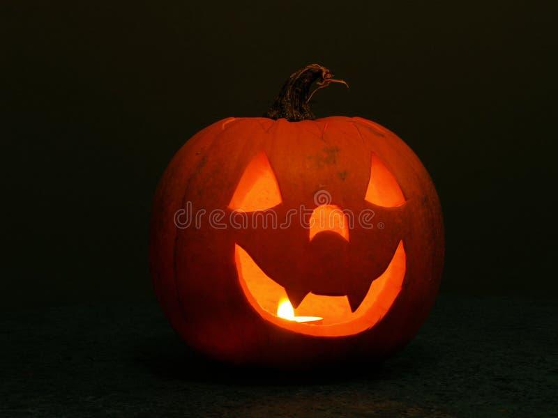 Lanterna della zucca di Halloween fotografia stock libera da diritti