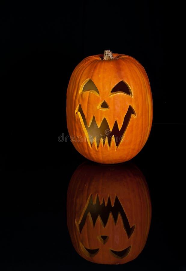 Lanterna di Halloween Jack O immagini stock