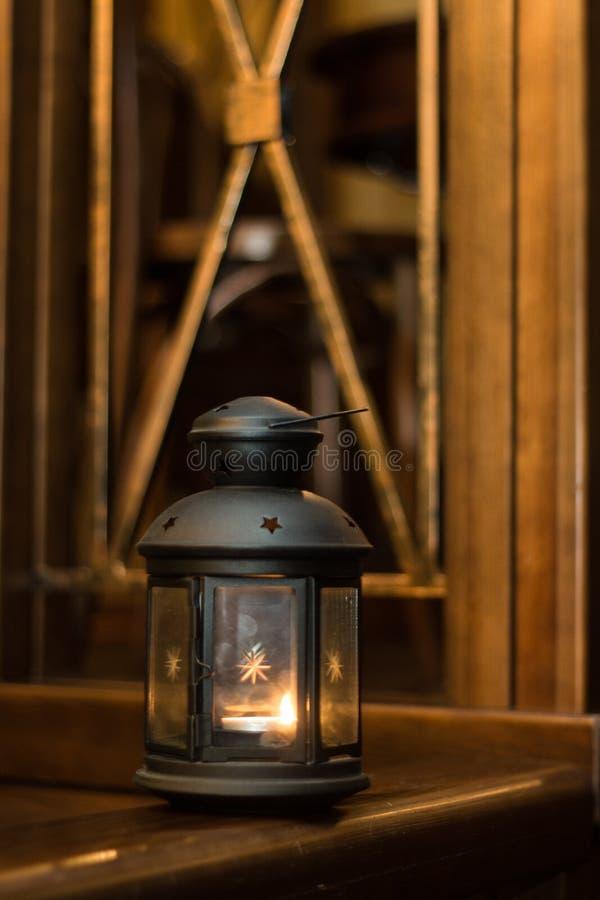 Lanterna di vetro immagini stock libere da diritti