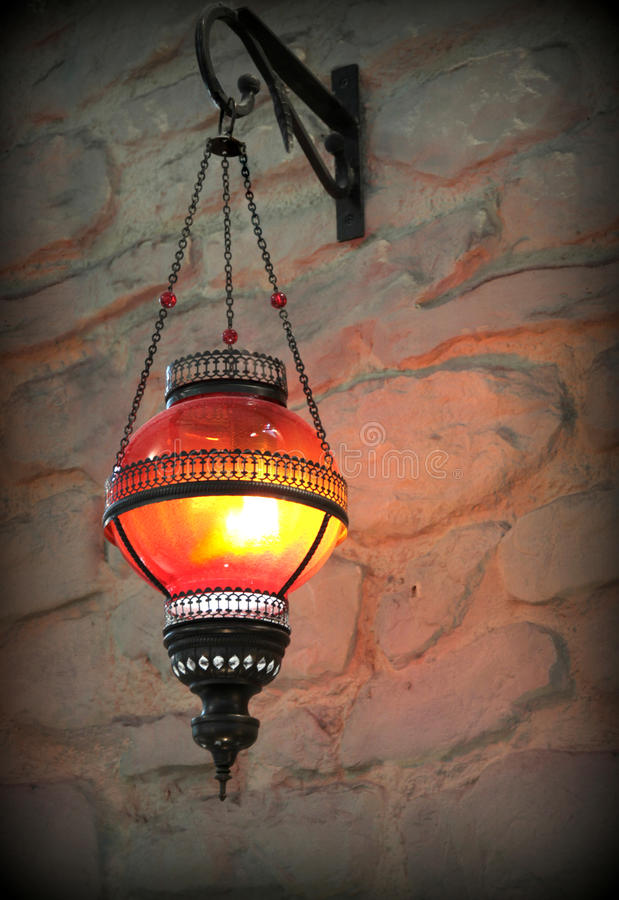 Lanterna do metal imagem de stock royalty free