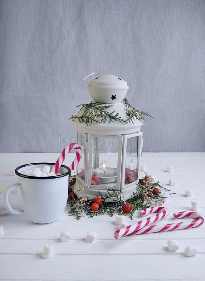 Lanterna do Natal imagens de stock royalty free