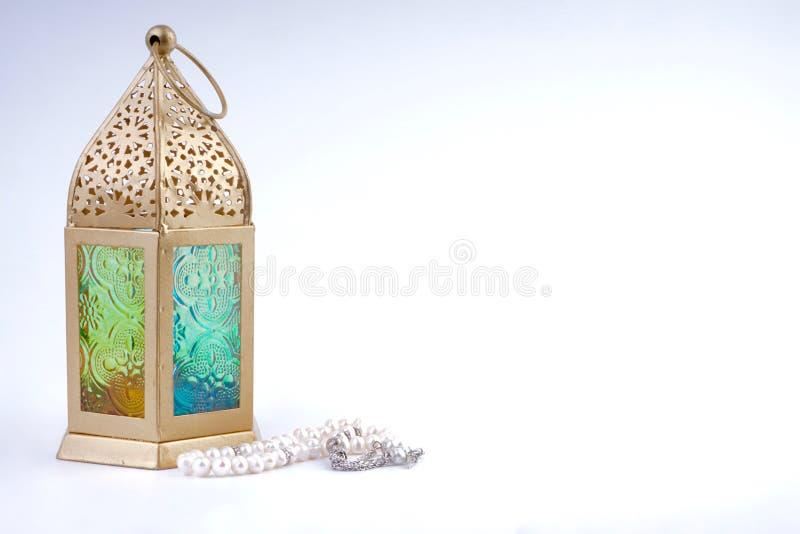 Lanterna Eid/del Ramadan fotografia stock libera da diritti