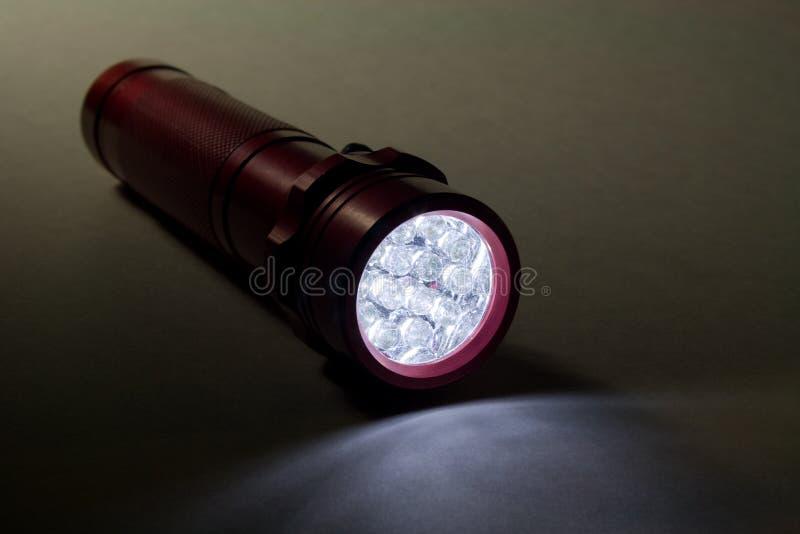 Lanterna elétrica moderna do diodo emissor de luz fotografia de stock royalty free