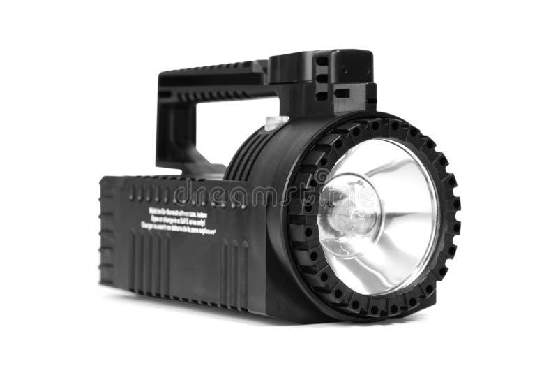 Lanterna elétrica preta imagens de stock royalty free