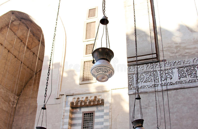 Lanterna islamica immagine stock
