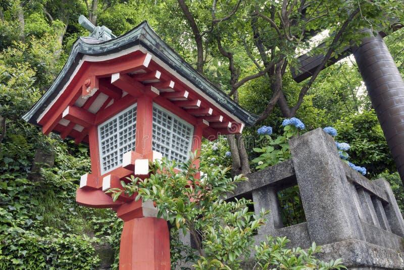 Lanterna japonesa fotografia de stock