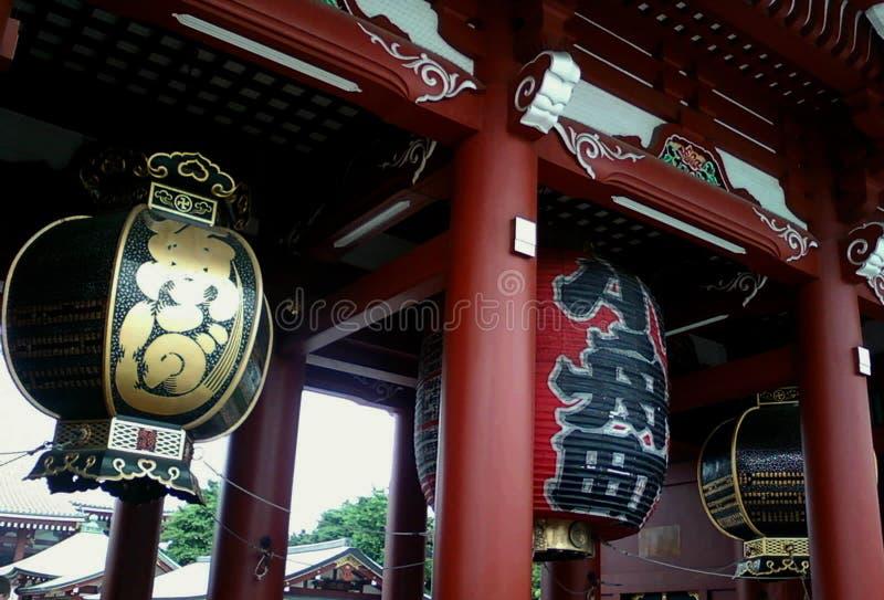 Lanterna japonesa imagens de stock