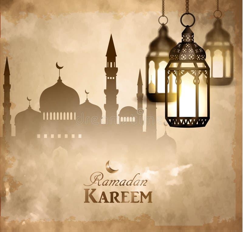 Download Lanterna Luminosa D'annata Dell'oro Illustrazione Vettoriale - Illustrazione di diwali, lanterna: 117978269