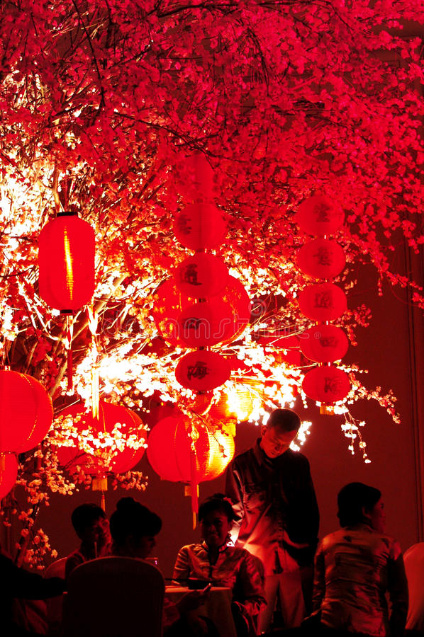 Lanterna no palácio do império imagens de stock royalty free
