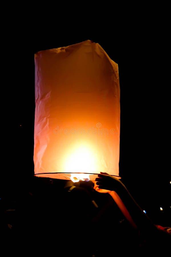 Lanterna ou lanterna tailandesa imagens de stock royalty free