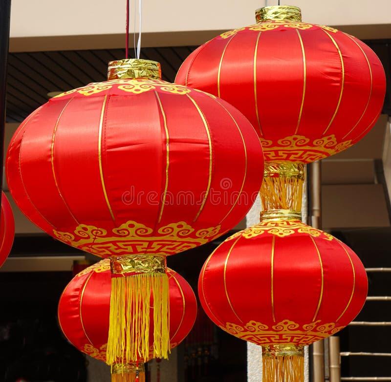 Lanterna Rossa Cinese immagini stock