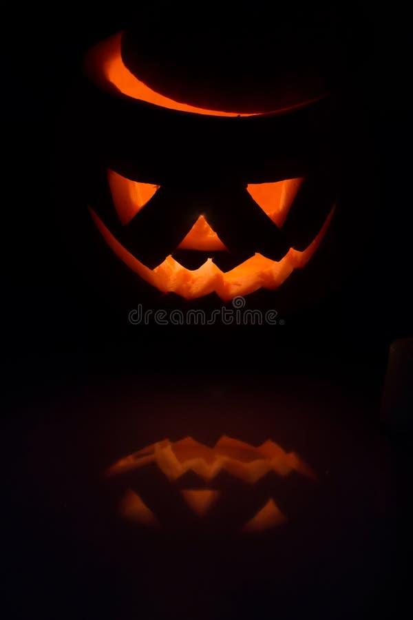 Immagine Zucca Di Halloween 94.Zucca Vuota Con La Candela All Interno Immagine Stock Immagine Di