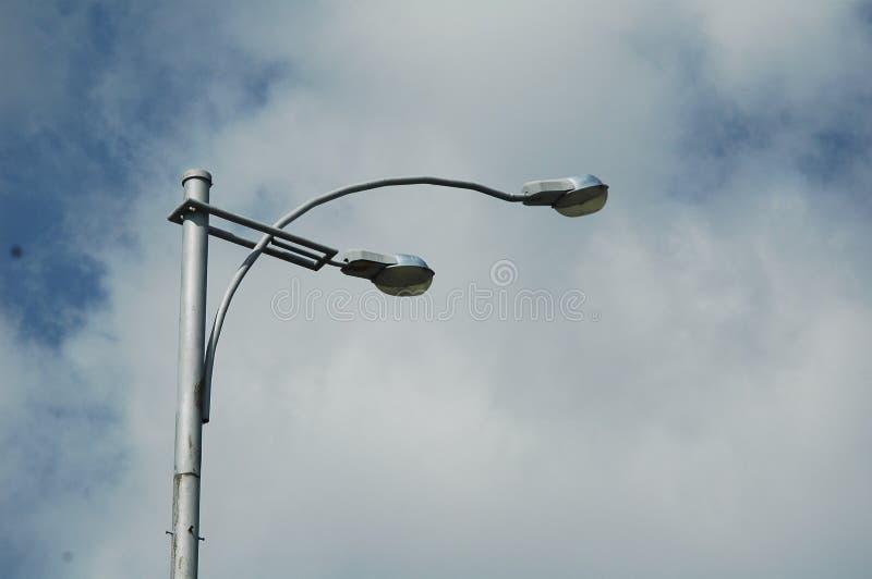 Lanterna sui precedenti del cielo immagine stock libera da diritti