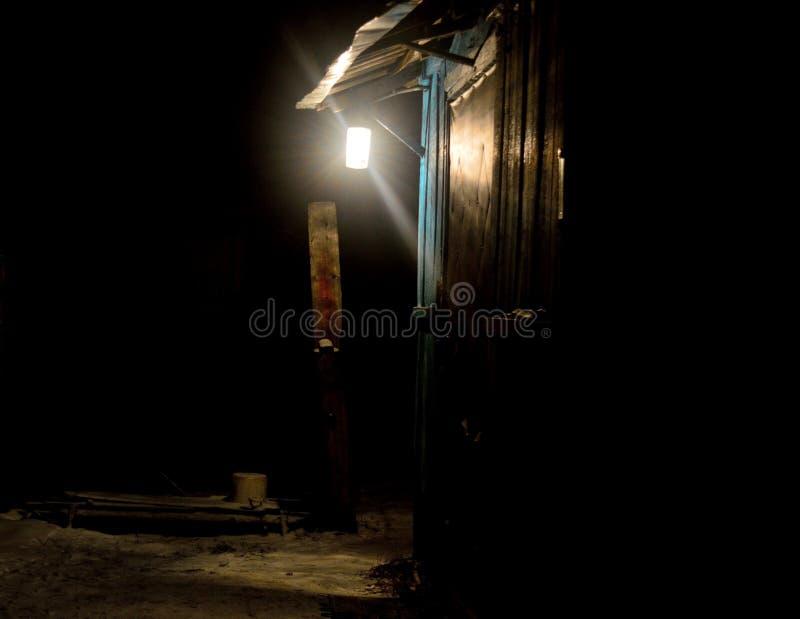 Lanterna sul portico immagini stock libere da diritti