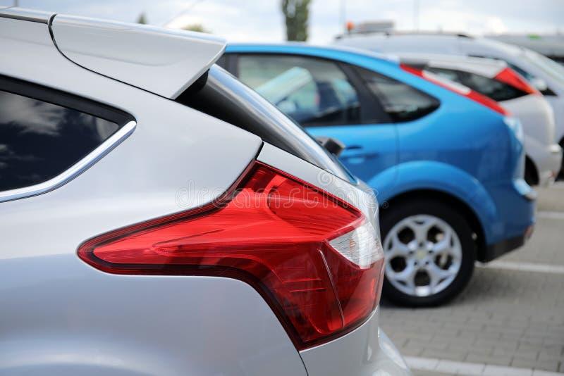 Lanterna traseira de Ford Focus imagens de stock royalty free