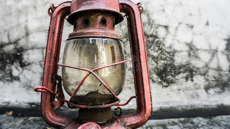 A lanterna velha fotos de stock