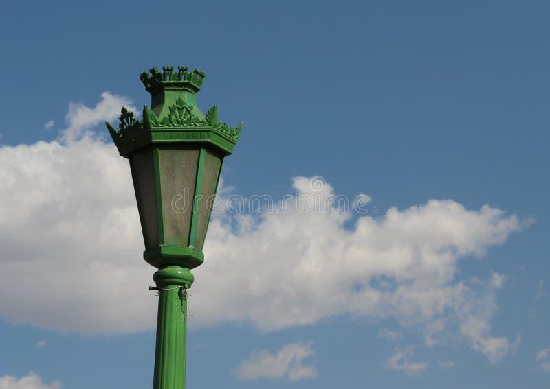 Lanterna velha do ofício foto de stock royalty free
