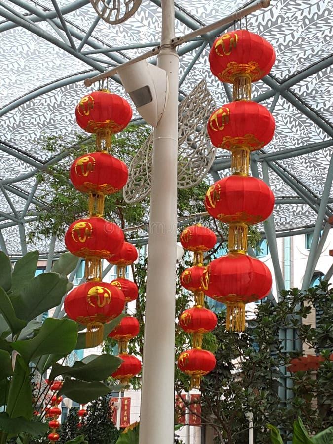 Lanterna vermelha chinesa fotos de stock royalty free