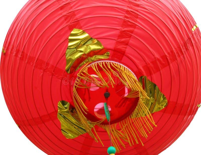Lanterna Vermelha Chinesa Fotos de Stock