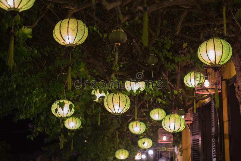 Lanterna Vietnam imagens de stock
