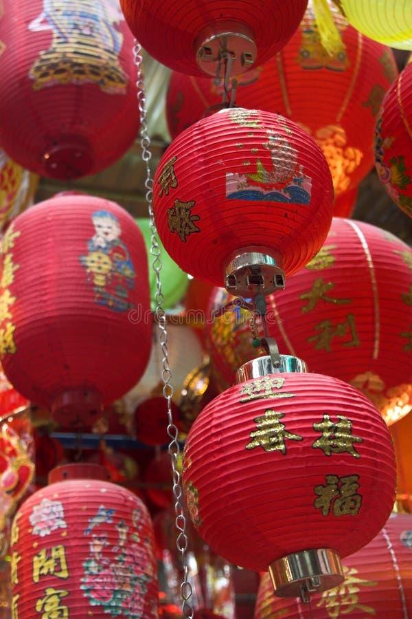 Lanternas chinesas imagem de stock royalty free